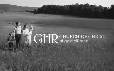 Church of Christ at Gold Hill Road-August 14, 2016 Bulletin