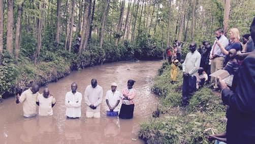 Baptisms at Nyambunwa