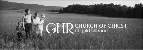 Church of Christ at Gold Hill Road- May 13, 2018