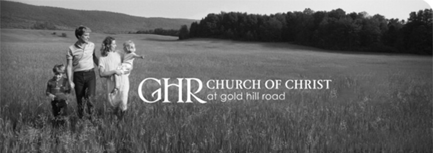 Church of Christ at Gold Hill Road- January 13, 2019