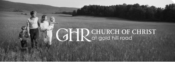 Church of Christ at Gold Hill Road- November 11, 2018